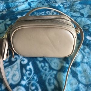 Handbags - Forever 21 small crossbody bag with two zippers